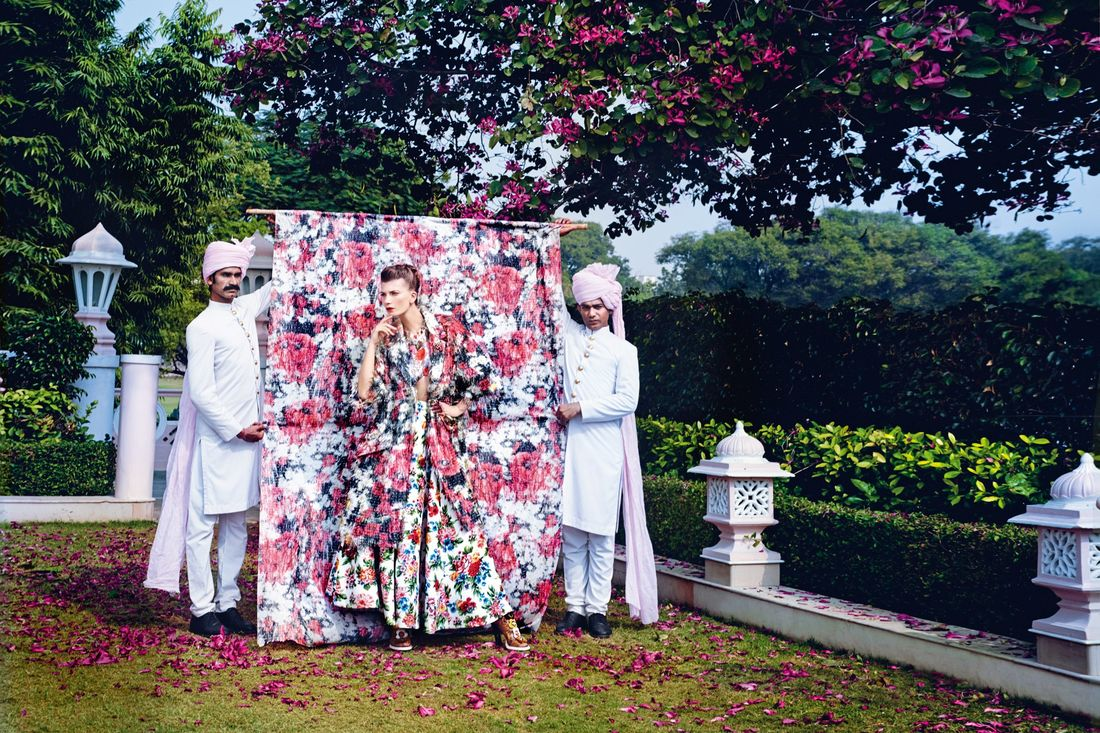 Regal fashion in Jaipur, Rajasthan, India (Condé Nast Traveller)