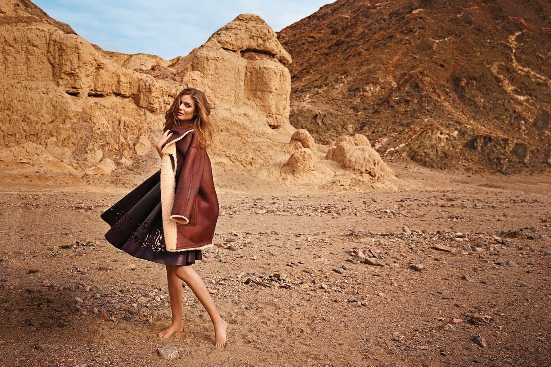 Autumn Winter fashion shoot in Namibia (Condé Nast Traveller)