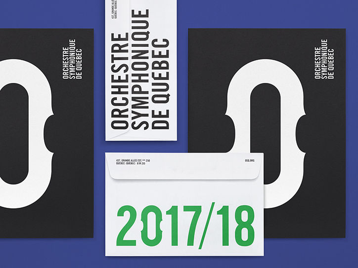 It's Nice That  Lg2 creates a new identity for Orchestre symphonique de Québec