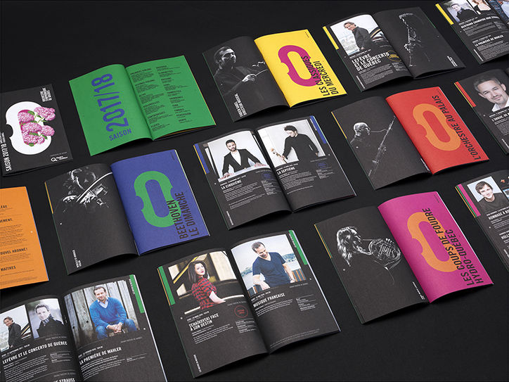 It's Nice That  Lg2 creates a new identity for Orchestre symphonique de Québec