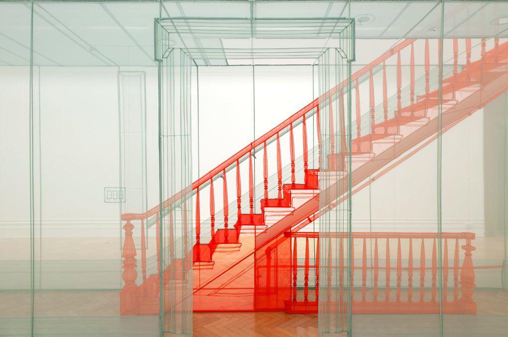 Les 'Ghost Rooms' incroyables que l'artiste Do Ho Suh élabore à grande échelle et en tissu  Unrated