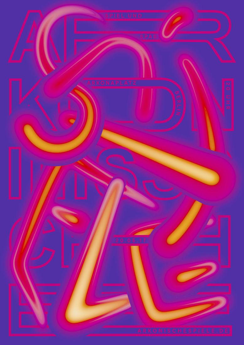 anders bakken - typo/graphic posters
