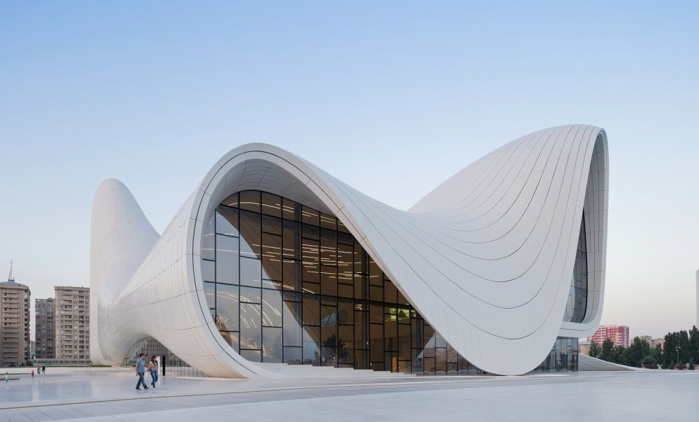 The astonishing neo-futuristic architecture of Zaha Hadid