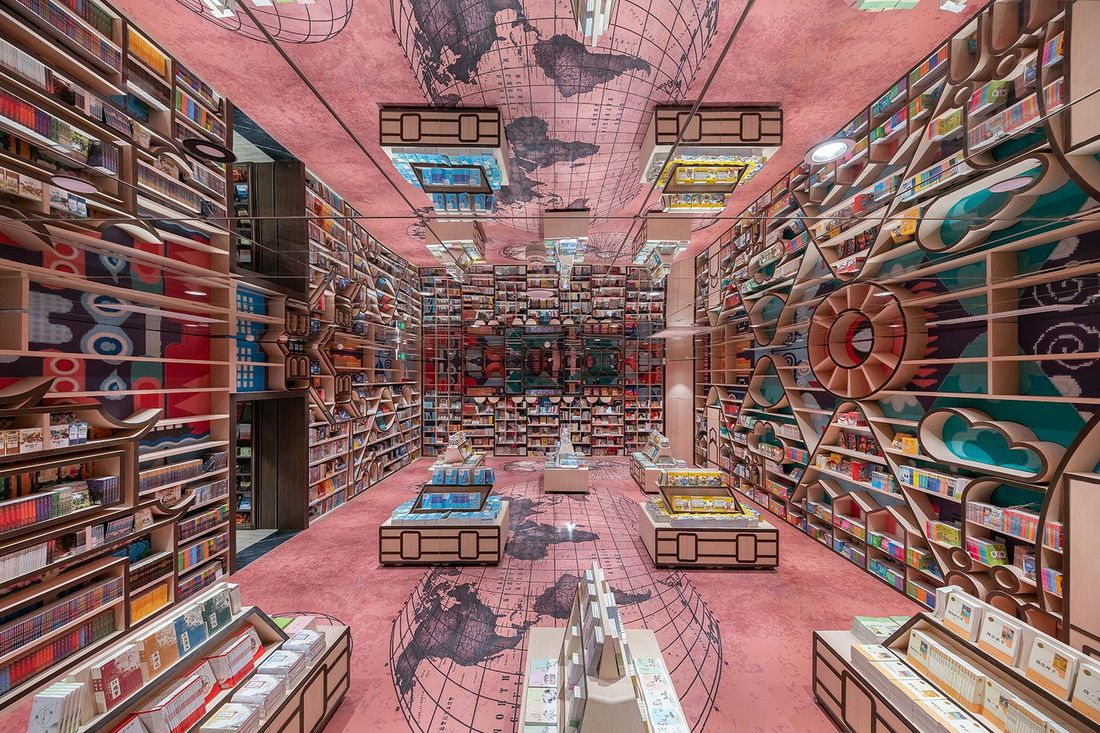 Step Inside the World's Most Majestic Bookstore  Architectural Digest