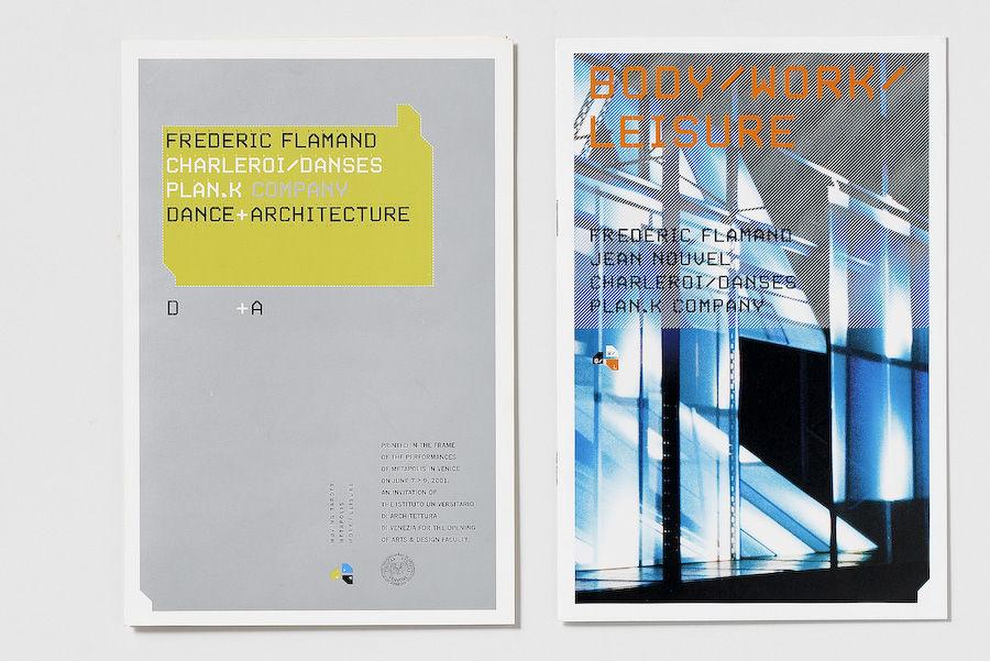 Frédéric Flamand Danse Architecture : Designlab