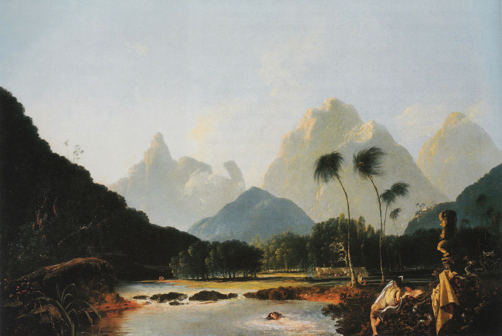 Flickr Photo Download: Tahiti Revisited, William Hodges, 1776
