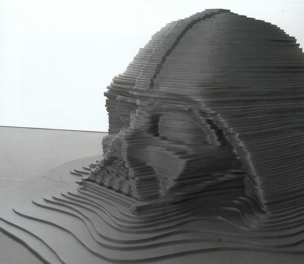 Flickr Photo Download: Model for a Sunken Monument [1999]
