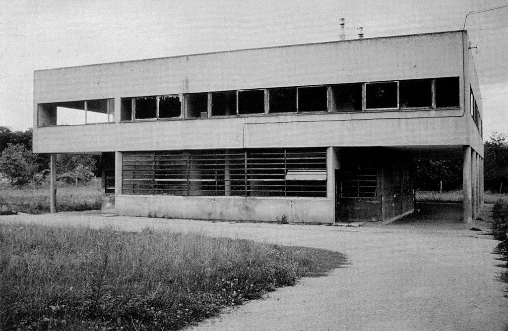 Flickr Photo Download: Villa Savoye (before restoration), Poissy-sur-Seine, France - Le Corbusier, 1928