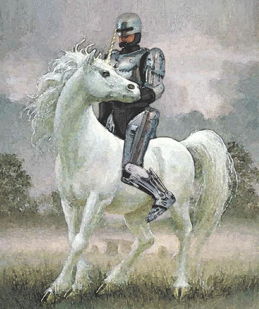 Flickr Photo Download: Robocop the romance novel