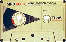 analog audio tape cassette nostalgia - tapedeck.org